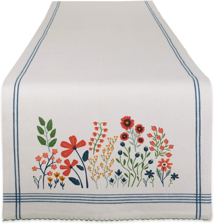 DII Flower Garden Kitchen Textiles, 14 x 72