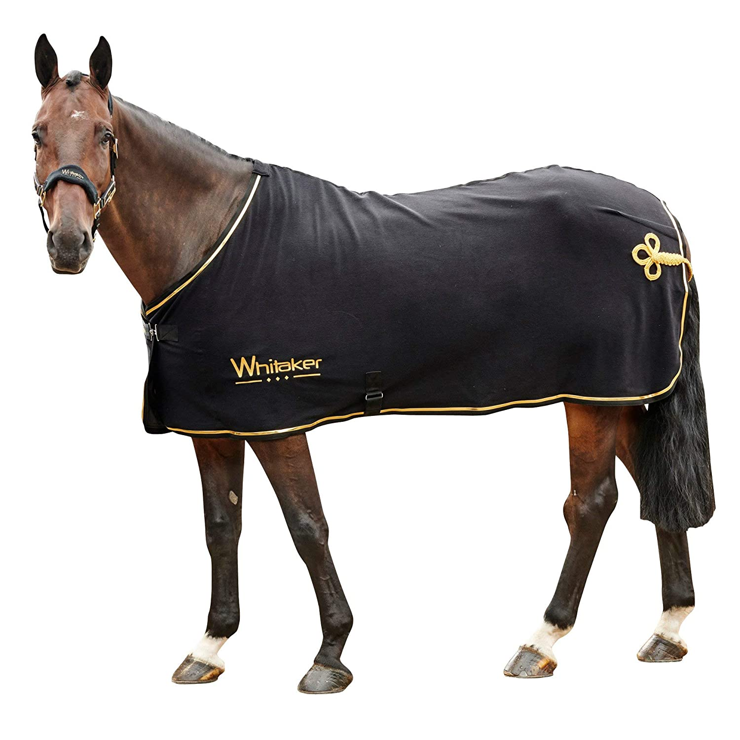 Black gold 6ft9 Black gold 6ft9 John Whitaker Thronton Show Fleece Rug