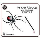 Black Widow ® Farbige Bleistifte für Erwachsene, die Best Farbe Bleistift Set für Erwachsene Färben Bücher, einer Qualität 24 Stück Schwarzholz Zeichnen Kit zur Verwendung in ihrer Bücher. New Black Widow