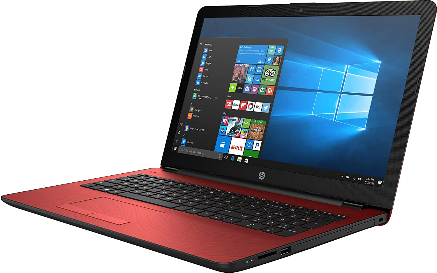 HP 15-bs234wm Intel Pentium N5000 Quad Core 4GB 500GB 15.6-inch Windows 10 Laptop (Renewed)