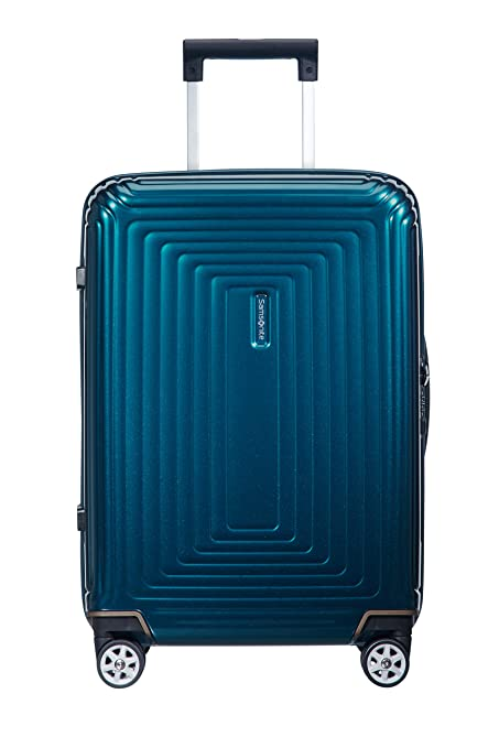 Samsonite Neopulse - Spinner S (Ancho: 23 cm) Equipaje de Mano, 55 cm, 44 L, Azul (Metallic Blue)