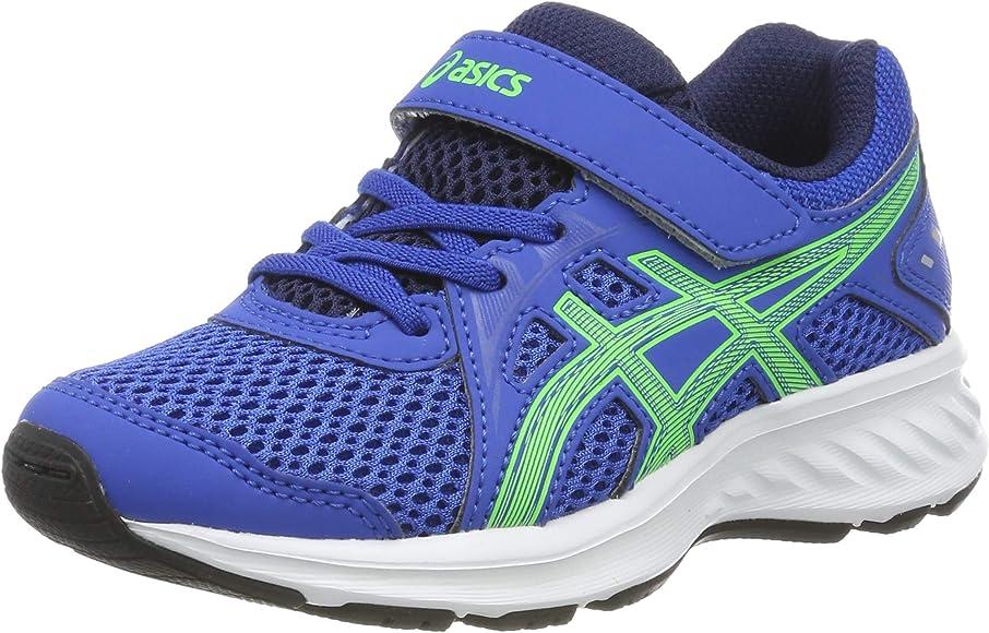Asics Jolt 2 PS, Zapatillas de Running Unisex Niños, Azul (Imperial/Green Gecko 401), 34.5 EU: Amazon.es: Zapatos y complementos