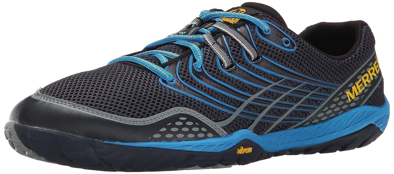 Merrell Herren Trail Glove 3 Traillaufschuhe, Schwarz  EU 46.5 (UK 11.5)|Blau (Navy/Racer Blue)