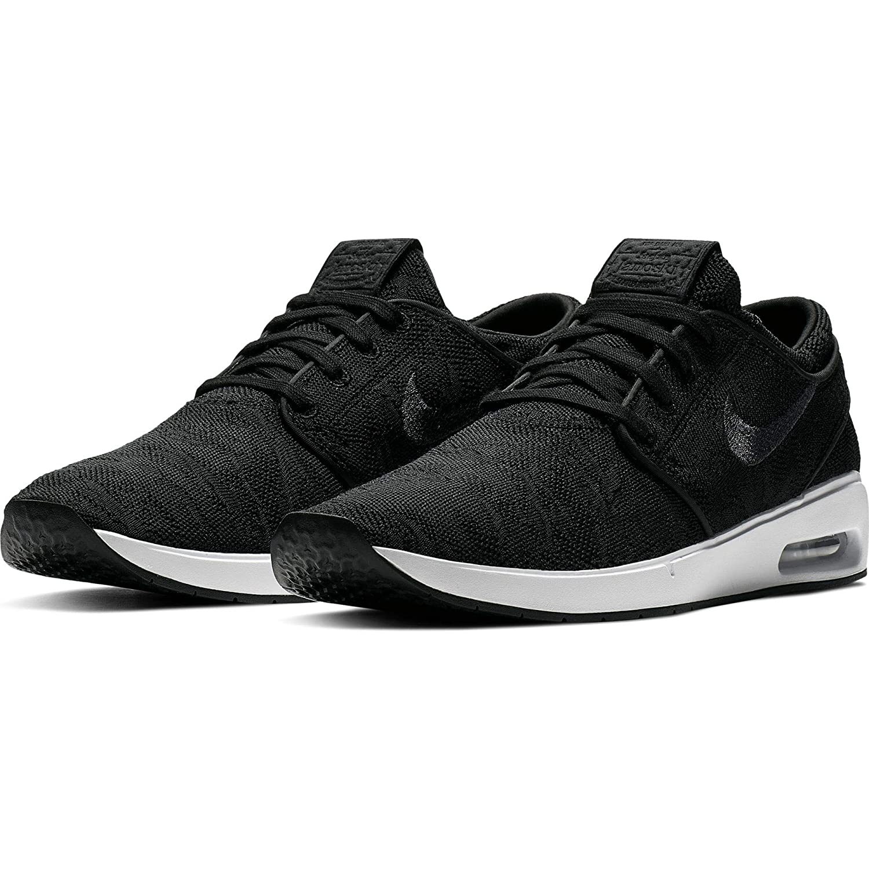 Nike Mens SB Air Max Janoski 2 Skateboarding Shoes Black//Anthracite-White, 9 M US