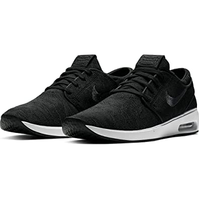 6127a544672e7 Nike Men's SB Air Max Janoski 2 Skateboarding Shoes (Black/Anthracite-White,