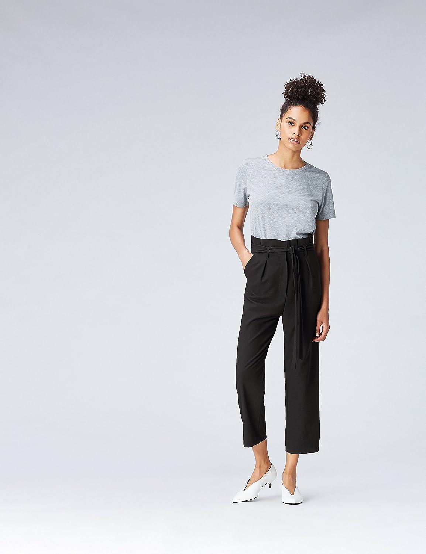 find Paperbag Waist Pantaloni Donna Marchio