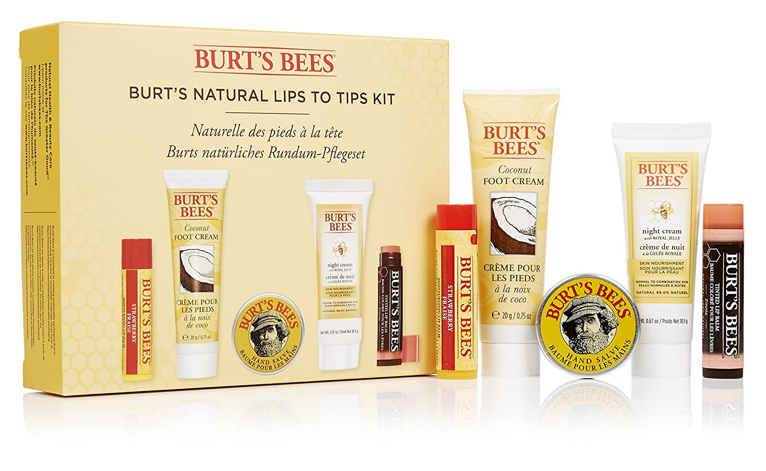 Burt's Bees Burt's Natural Lips to Tips Kit Burt' s Bees 21305-14