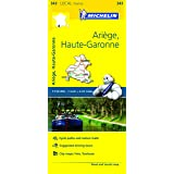 Ariege, Haute-Garonne Michelin Local Map 343 (Michelin Local Maps)