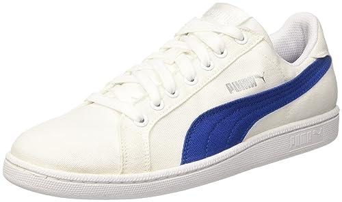 Puma Smash V2 L, Zapatillas Unisex Adulto, Blanco (Puma White-Puma White 7), 43 EU