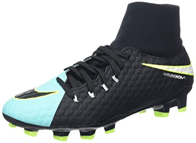 best authentic 5b87f a4810 Nike Hypervenom Phelon 3 Dynamic Fit FG, Chaussures de Football Femmes,  Bleu (Light