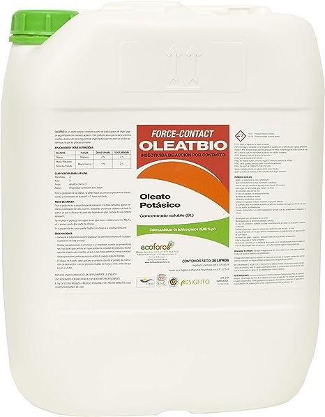 CULTIVERS Jabon potásico de 1 L. Insecticida ecologico con ...