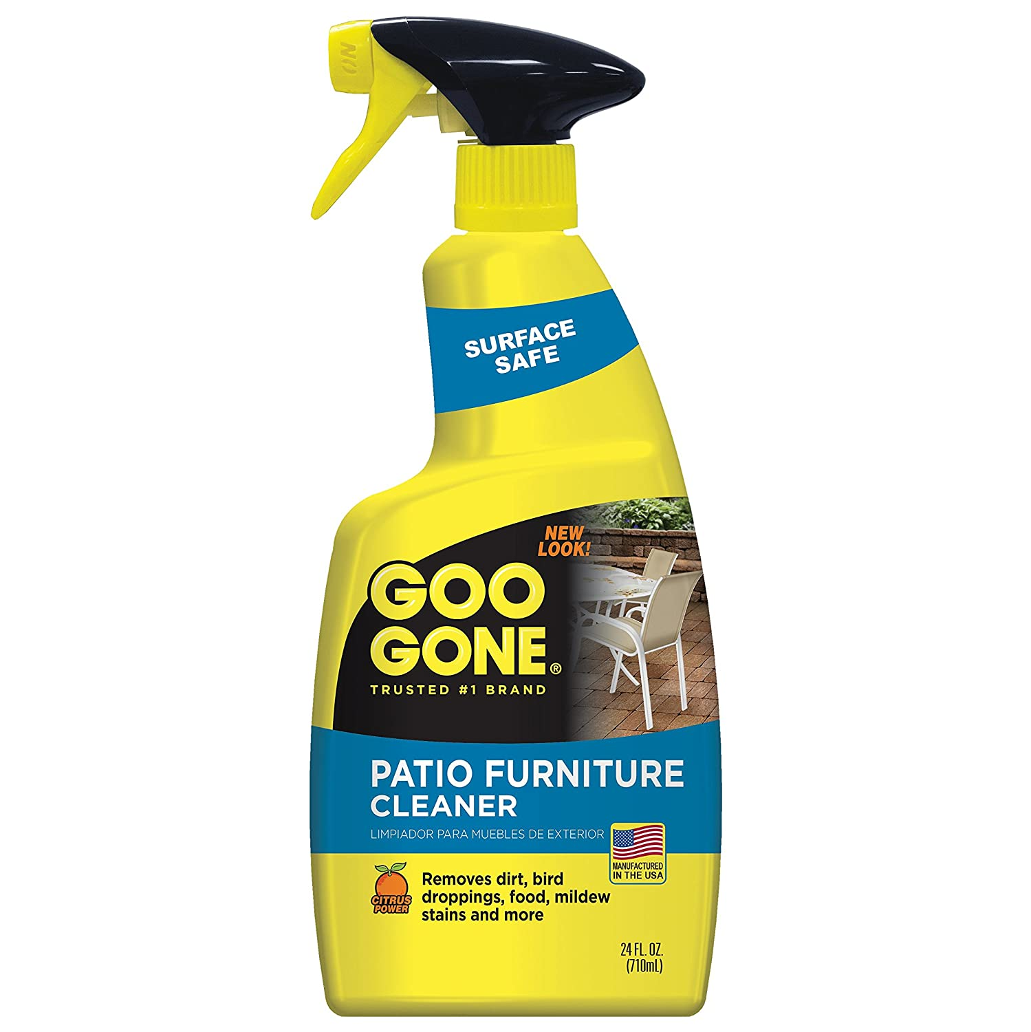 Amazon Goo Gone Patio Furniture Cleaner Removes Dirt Bird