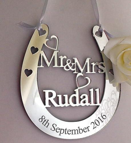 Bride & Groom Gift Tag, Wedding Label, Traditional Wedding