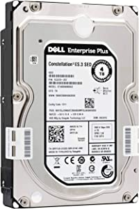 "DELL ENTERPRISE CLASS 4TB 7.2K RPM SATA 3.5"" 6Gbps HARD DRIVE W/TRAY FOR PowerEdge R210 II R220 R310 R320 R410 R415 R420 R510 R515 R520 R710 R720 R720XD T110 II T310 T320 T410 T420 T620 T710 (Renewed)"