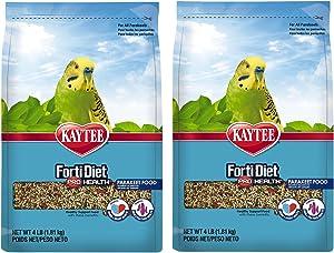 Kaytee Forti-Diet Pro Health Feather Parakeet Food 4lb