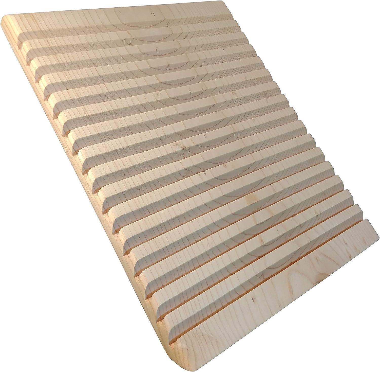 14,2 x 5,1 x 0,8 Zoll Holzn/ähen Desktop Storage Organizer St/änder f/ür Stifte Rei/ßn/ägel Spulen Quilting Lineal Rack mit Spulenhalter