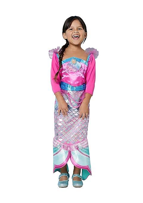 Amscan 9903280 - Disfraz de sirena arco iris, para niñas, color no sólido: Amazon.es: Juguetes y juegos
