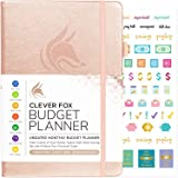 Clever Fox Budget Planner - Expense Tracker Notebook. Monthly Budgeting Journal, Finance Planner & Accounts Book to Take Control of Your Money. Undated - Start Anytime A5 (5.8'' x 8.3'') Rose Gold