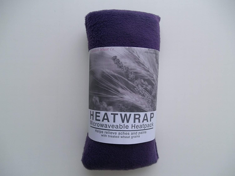 Forro polar trigo bolsa microondas - púrpura - sin perfume: Amazon ...
