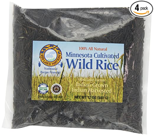 Arroz 100% silvestre Red Lake Nation, cultivado en Minnesota ...
