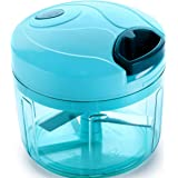 Ganesh Plastic Quick Chopper, 725ml, Pool Green