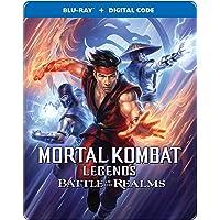 Mortal Kombat Legends: Battle of the Realms (Bilingual/Digital/Steelbook/ Blu-ray)
