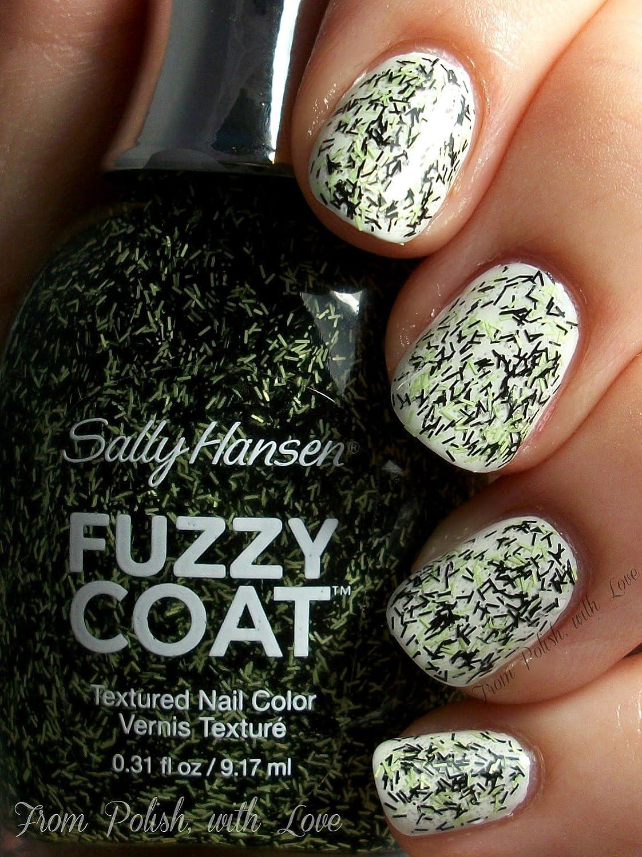 Amazon.com : Sally Hansen Fuzzy Coat Texture Nail Color - 890 Fur ...
