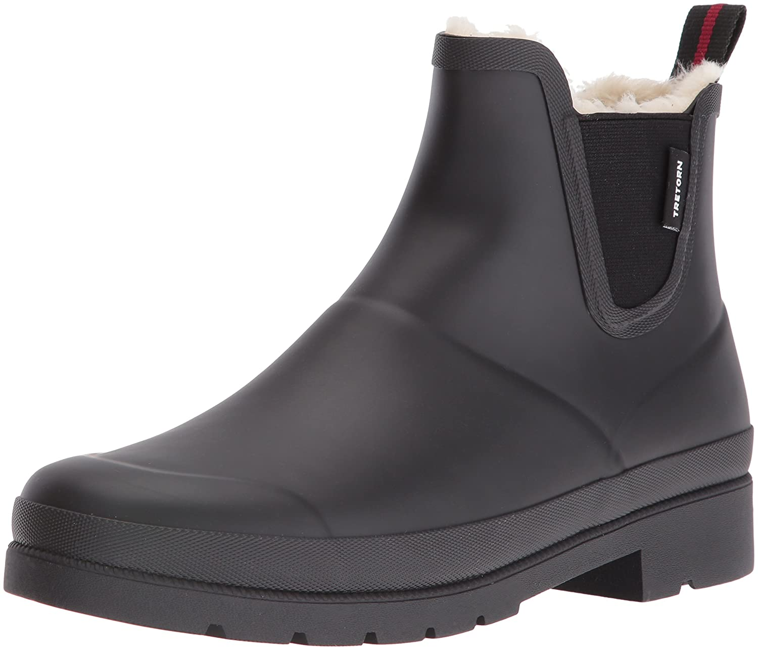 Tretorn Women's Lina Wnt Rain Boot B01G62JR5Y 7 B(M) US|Black/Black
