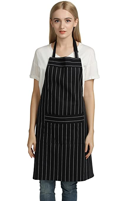 Amazon.com: Jennice House Chef Aprons Professional Kitchen Chef ...