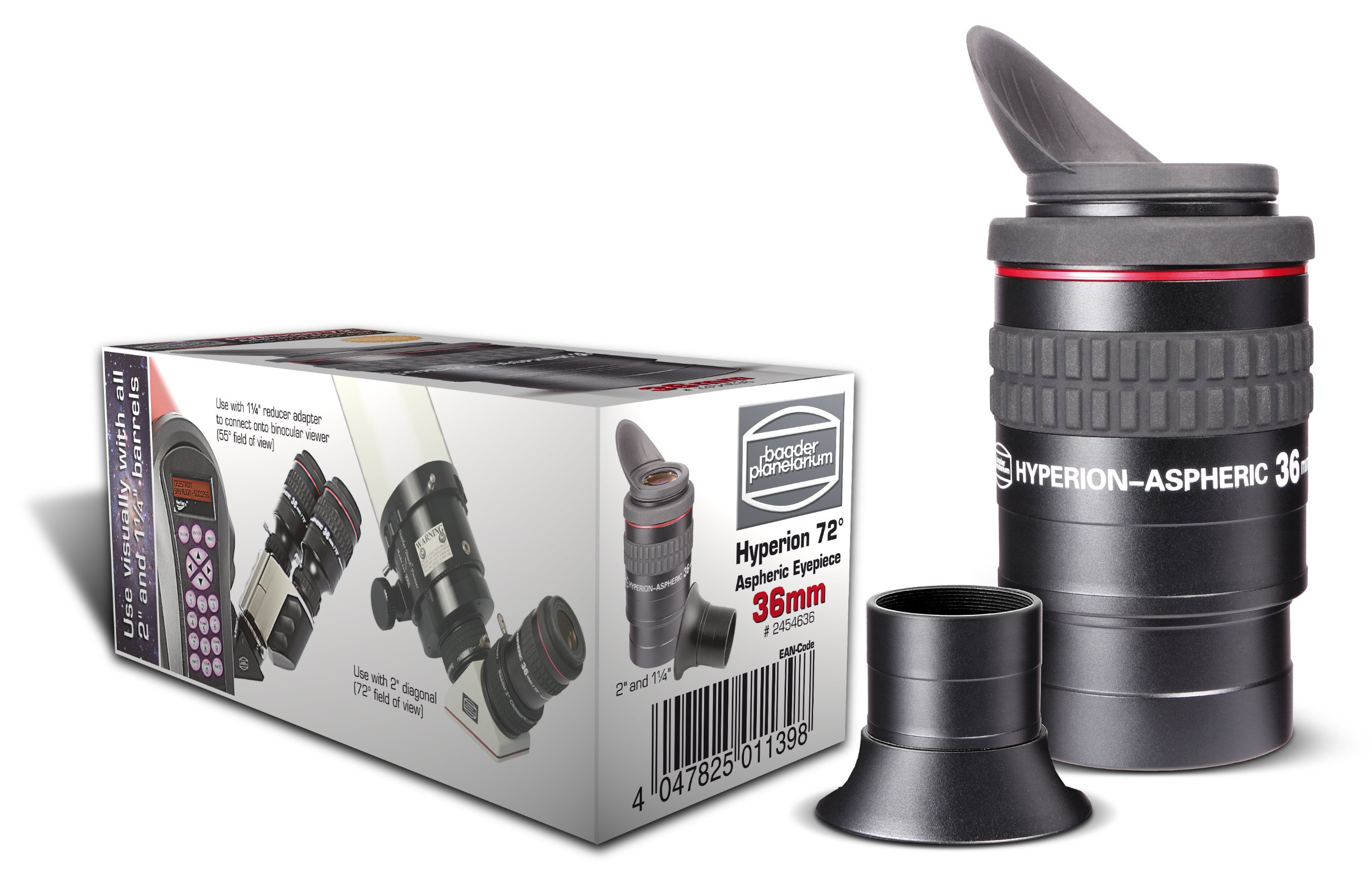 Baader 36 mm Hyperion Aspheric Eyepiece - Black by Baader