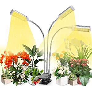 VOGEK LED Growing Light Full Spectrum for Indoor Plants, Seedlings