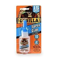 Gorilla Super Glue 15-Gram, Clear
