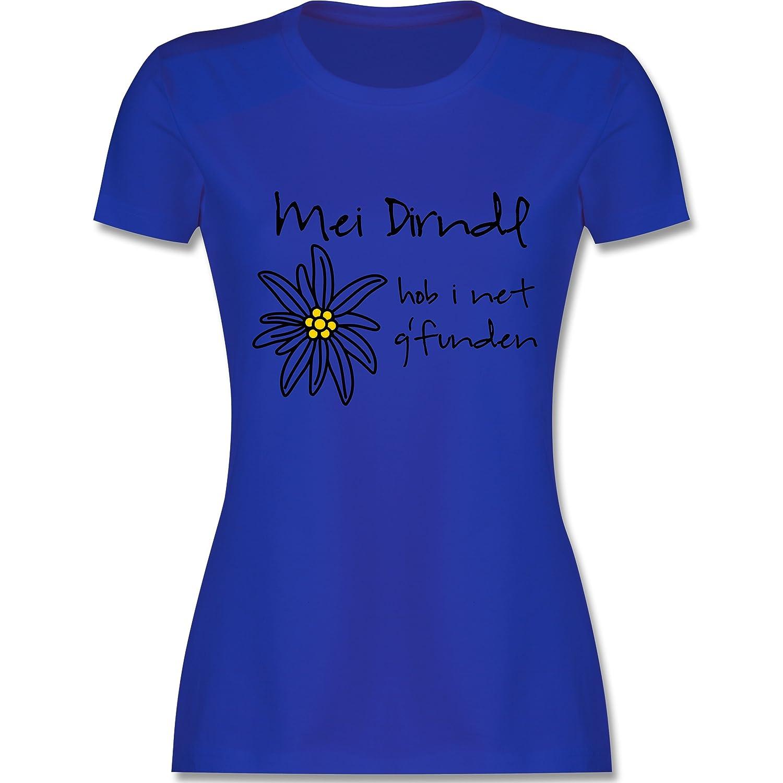 Oktoberfest Damen - Dirndl net g'funden - Shirt statt Dirndl - Damen T-Shirt  Rundhals: Shirtracer: Amazon.de: Bekleidung