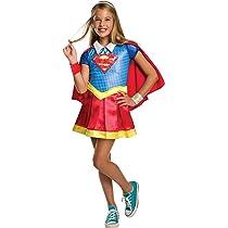 DC Comics - Disfraz de Supergirl licencia oficial para niña ...