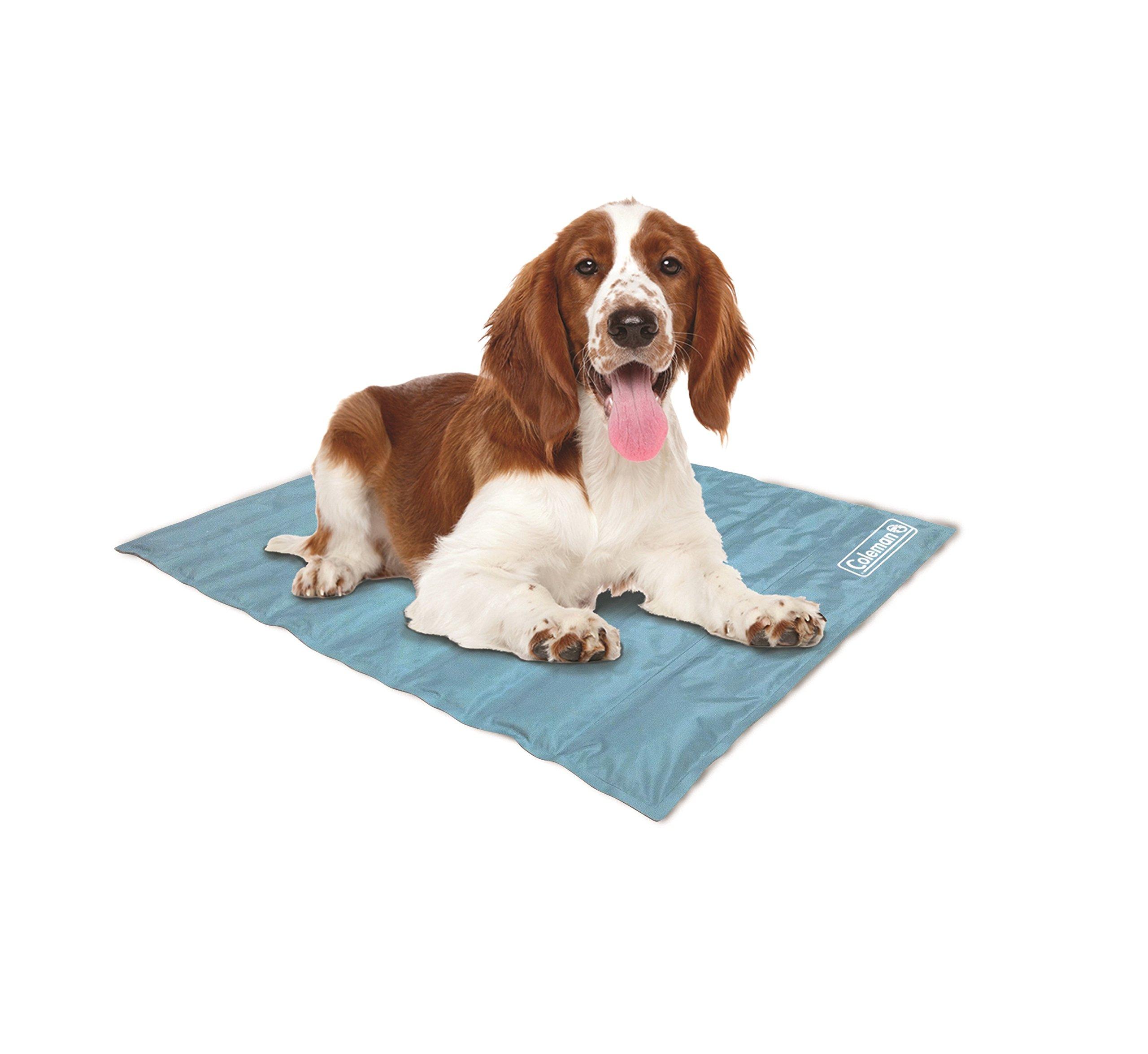 Coleman Comfort Cooling Gel Pet Pad Mat in Medium 24''x30'', For Medium Pets (Blue) by Coleman (Image #1)