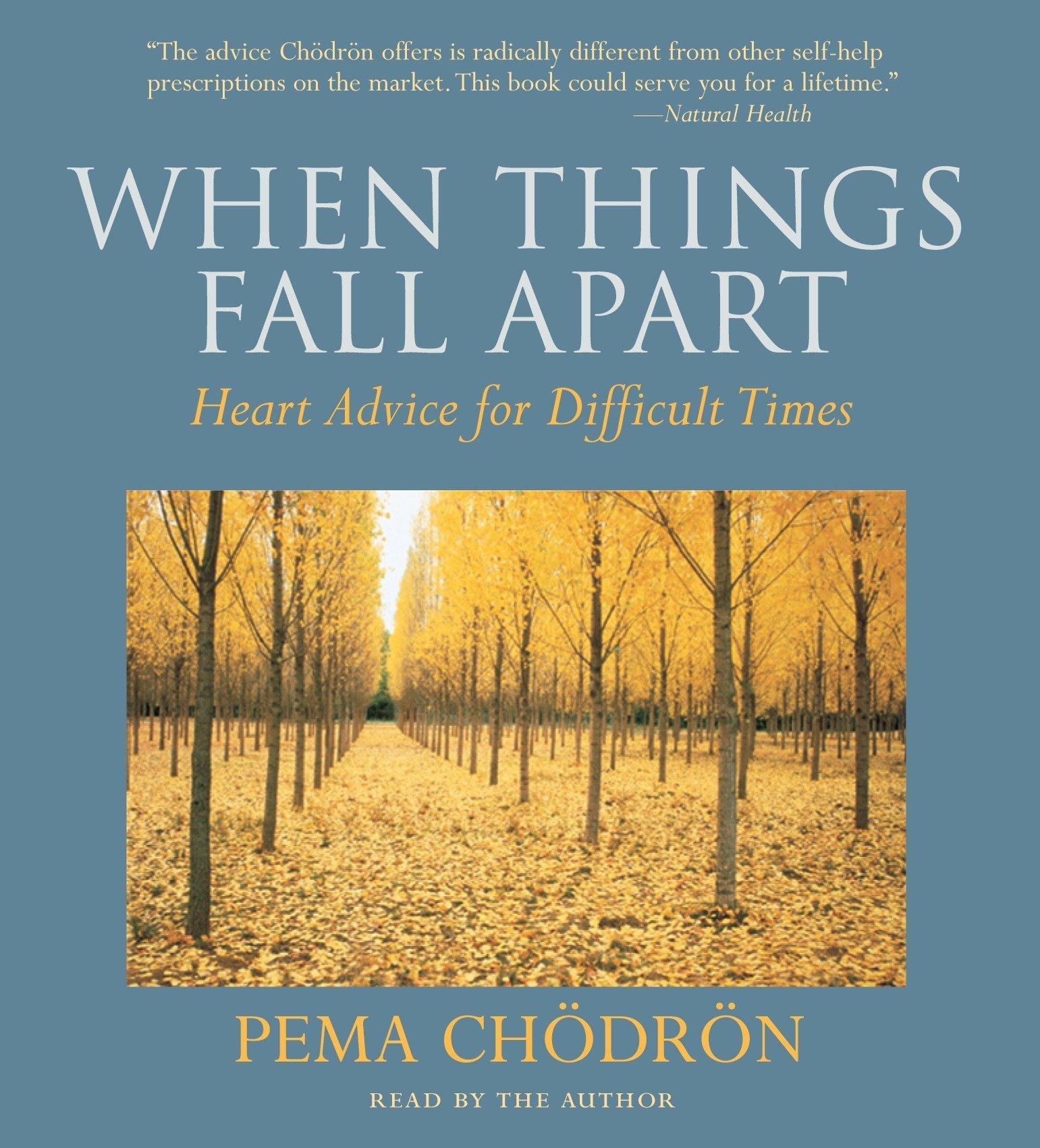 pema chodron when things fall apart audio