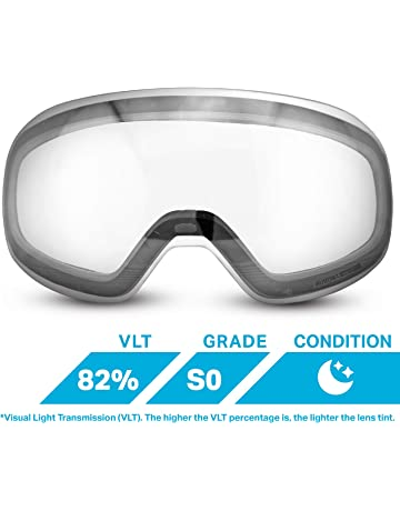 51f5985fe4 WildHorn Outfitters Roca Extra Replacement Frameless Snow Goggle Lens