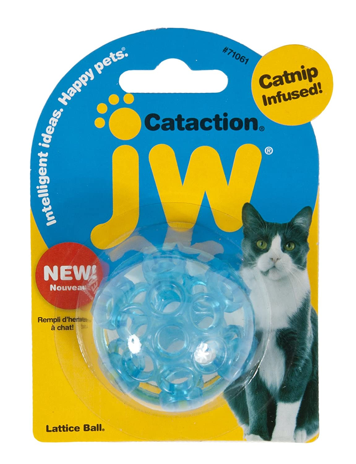 JW Pet Company Cataction Lattice Ball for Cats