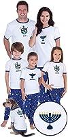 Chanukah Matching Pajamas for the Whole Family Womens Medium (8-10)