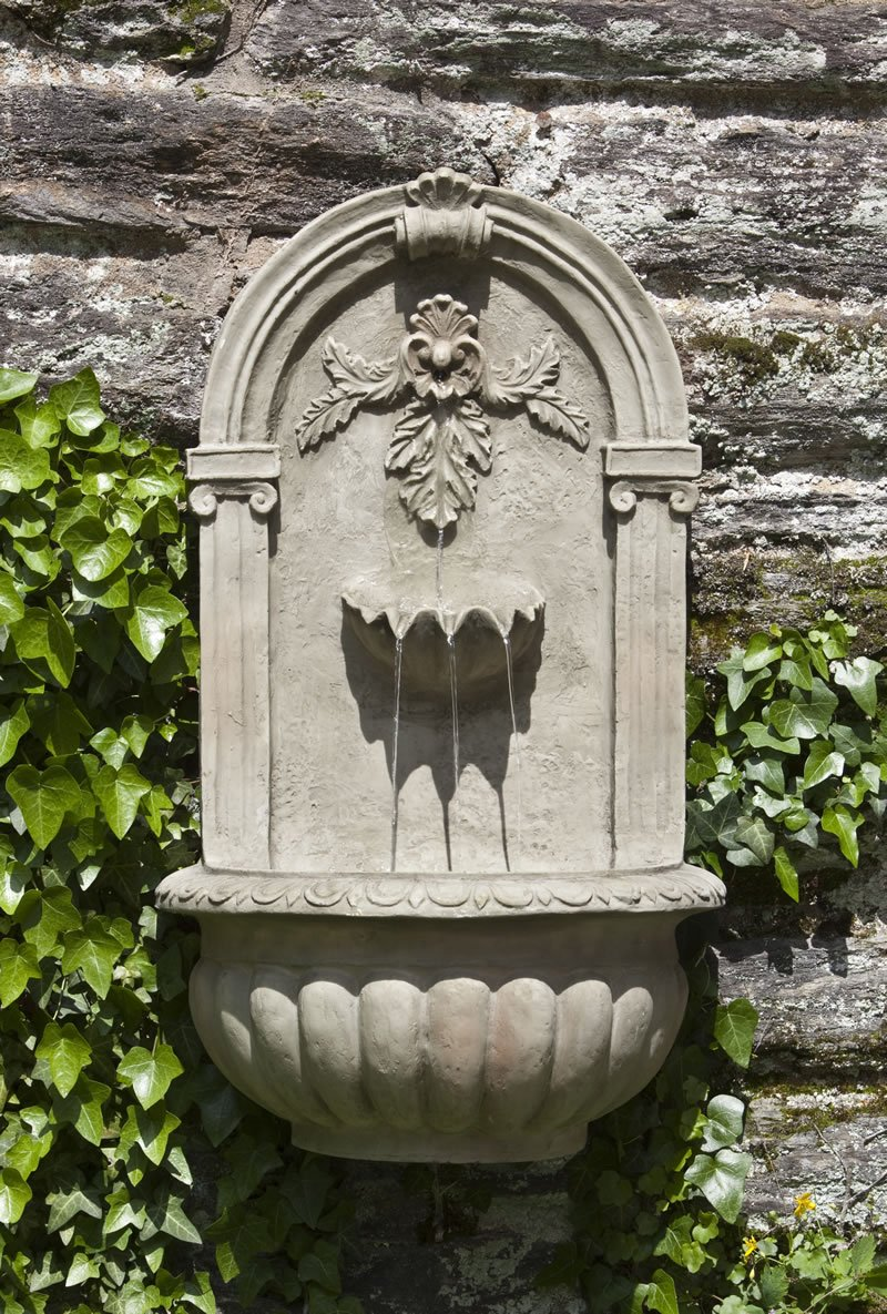 Corinthian Wall Fountain by Tivoli USA