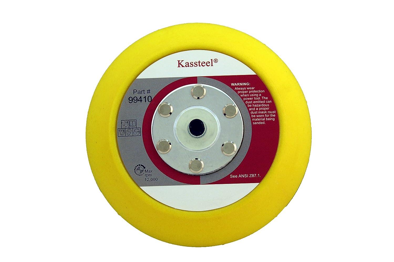 1 Pad Kassteel 99410 5 Back Up Pad 5//16-24 Threaded Hub for PSA Sanding Discs