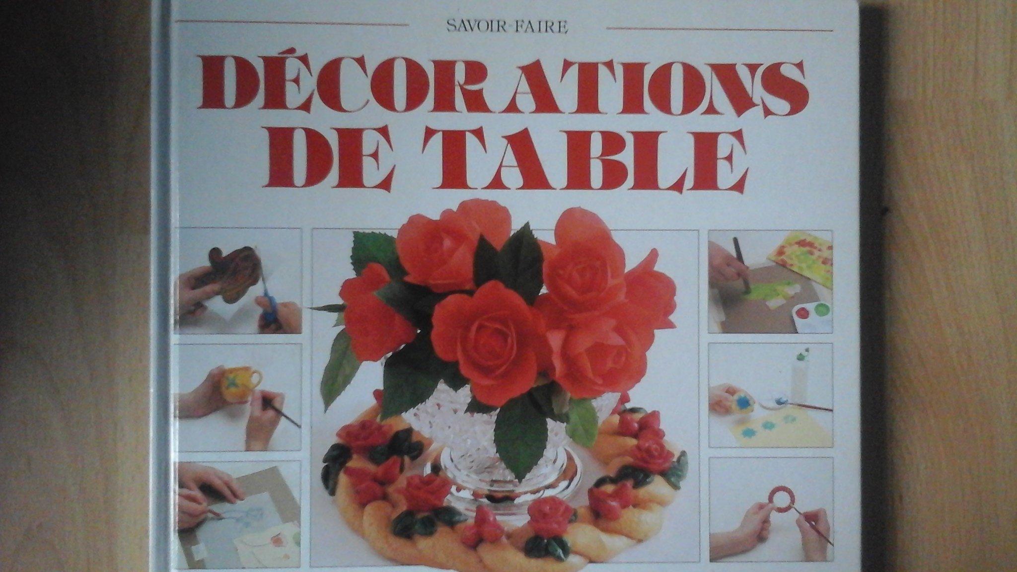Couverture de Decorations de table