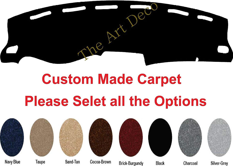 The ArtDeco Dash Cover for Dodge Ram 1500/2500/3500 Dash Cover -Premium Carpet (Fits 1994-1997, Black)