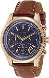 Guess Herren-Armbanduhr XL Chronograph Quarz Leder W0500G1