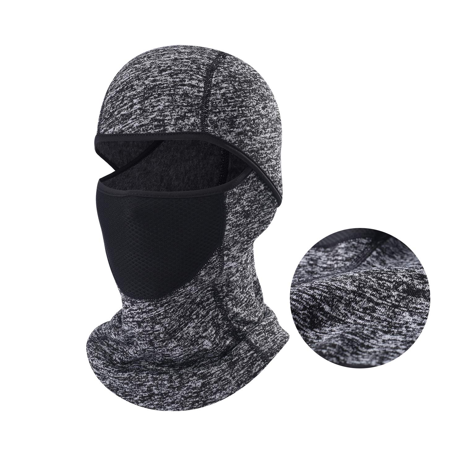 Balaclava Ski Mask Windproof and Cold Protection Outdoor Motorcycle Hood Breathable Full Face Mask for Men