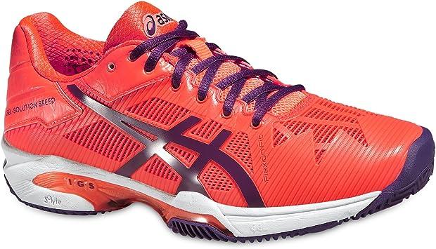 Asics - Zapatillas de tenis/pádel de mujer gel solution speed 3 clay ...