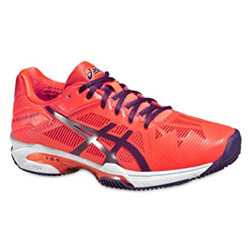 Asics Mujeres Gel-Solution Speed 3 Clay Zapatillas De Tenis Zapatilla Tierra Batida Coral -