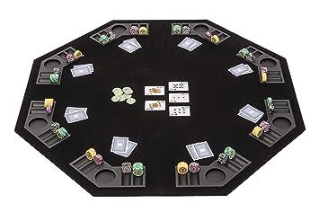 Riverboat Gaming Tablero de póquer Plegable con Bolsa de ...