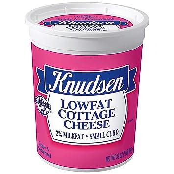 knudsen small curd lowfat cottage cheese 32 oz tub amazon com rh amazon com
