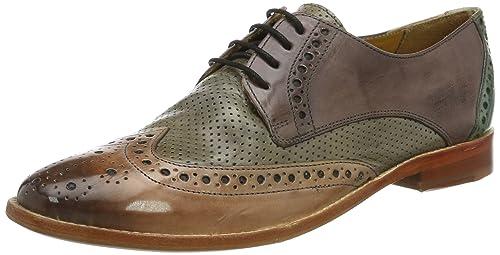 Melvin & Hamilton Zapatos Derby Amelie 3 Marrón/Azul EU 40 Melvin & Hamilton nPzAfH4W8